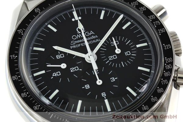 Used luxury watch Omega Speedmaster chronograph steel manual winding Kal. 1861  | 150425 02