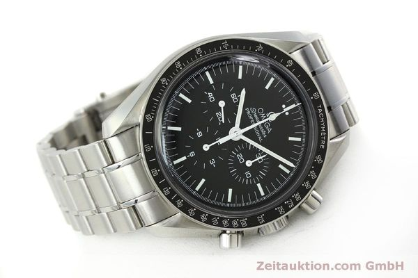 Used luxury watch Omega Speedmaster chronograph steel manual winding Kal. 1861  | 150425 03