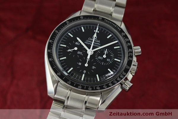 Used luxury watch Omega Speedmaster chronograph steel manual winding Kal. 1861  | 150425 04