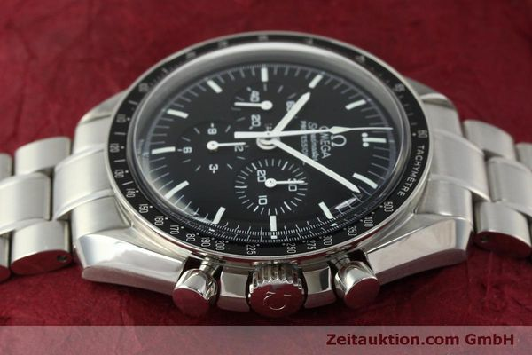 Used luxury watch Omega Speedmaster chronograph steel manual winding Kal. 1861  | 150425 05