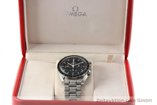Used luxury watch Omega Speedmaster chronograph steel manual winding Kal. 1861  | 150425 07