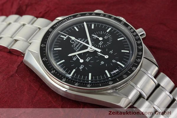 Used luxury watch Omega Speedmaster chronograph steel manual winding Kal. 1861  | 150425 16