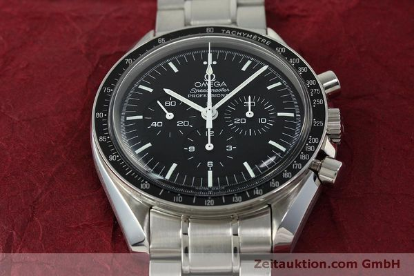 Used luxury watch Omega Speedmaster chronograph steel manual winding Kal. 1861  | 150425 17