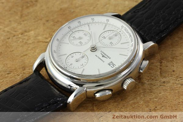 Used luxury watch Longines Les Grande Classique chronograph steel automatic Kal. L667.2 ETA 7750 Ref. L4.686.4  | 150426 01
