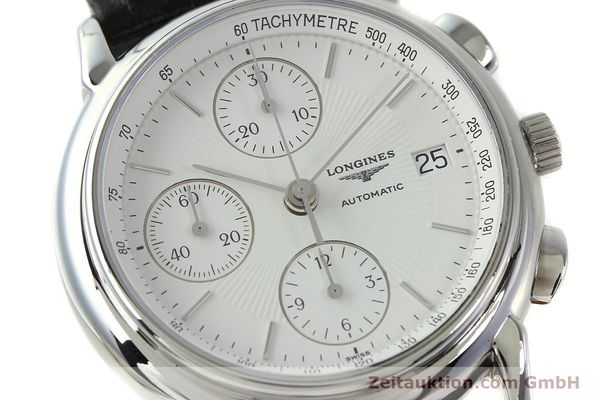 Used luxury watch Longines Les Grande Classique chronograph steel automatic Kal. L667.2 ETA 7750 Ref. L4.686.4  | 150426 02