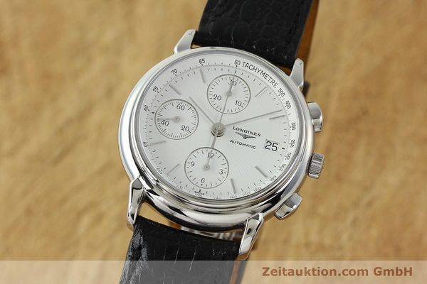Used luxury watch Longines Les Grande Classique chronograph steel automatic Kal. L667.2 ETA 7750 Ref. L4.686.4  | 150426 04
