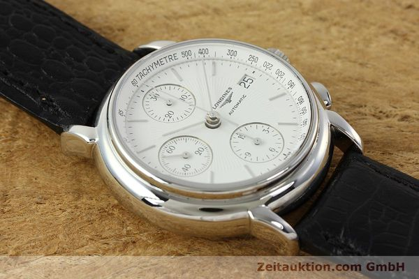Used luxury watch Longines Les Grande Classique chronograph steel automatic Kal. L667.2 ETA 7750 Ref. L4.686.4  | 150426 14