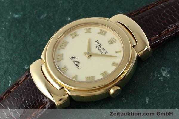 Used luxury watch Rolex Cellini 18 ct gold quartz Kal. 6620 Ref. 6621  | 150429 01