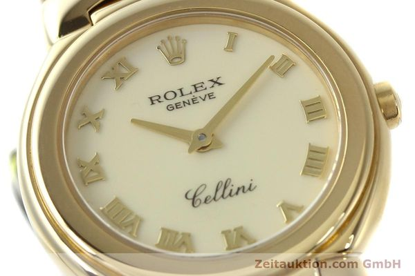 Used luxury watch Rolex Cellini 18 ct gold quartz Kal. 6620 Ref. 6621  | 150429 02