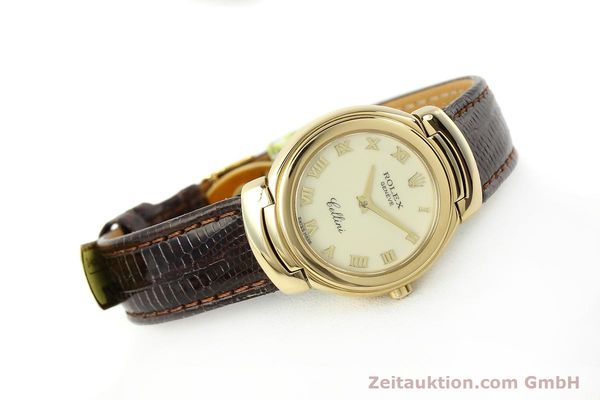 Used luxury watch Rolex Cellini 18 ct gold quartz Kal. 6620 Ref. 6621  | 150429 03