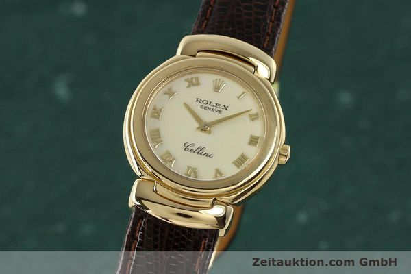 Used luxury watch Rolex Cellini 18 ct gold quartz Kal. 6620 Ref. 6621  | 150429 04