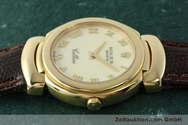 Used luxury watch Rolex Cellini 18 ct gold quartz Kal. 6620 Ref. 6621  | 150429 05