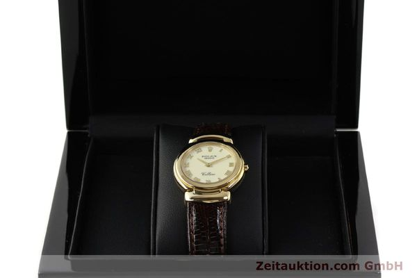 Used luxury watch Rolex Cellini 18 ct gold quartz Kal. 6620 Ref. 6621  | 150429 07