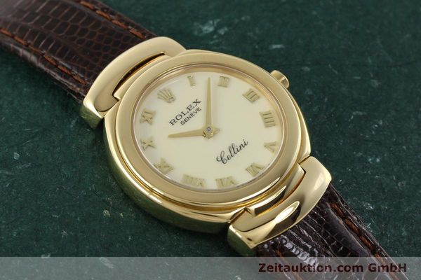 Used luxury watch Rolex Cellini 18 ct gold quartz Kal. 6620 Ref. 6621  | 150429 15