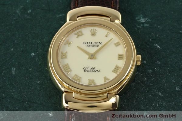 Used luxury watch Rolex Cellini 18 ct gold quartz Kal. 6620 Ref. 6621  | 150429 16
