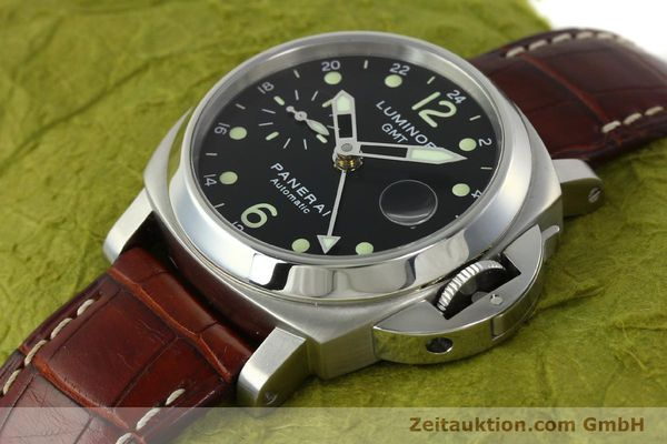 montre de luxe d occasion Panerai Luminor GMT acier automatique Kal. A05571 Ref. OP6594  | 150431 01