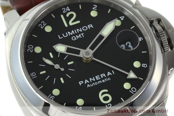 montre de luxe d occasion Panerai Luminor GMT acier automatique Kal. A05571 Ref. OP6594  | 150431 02