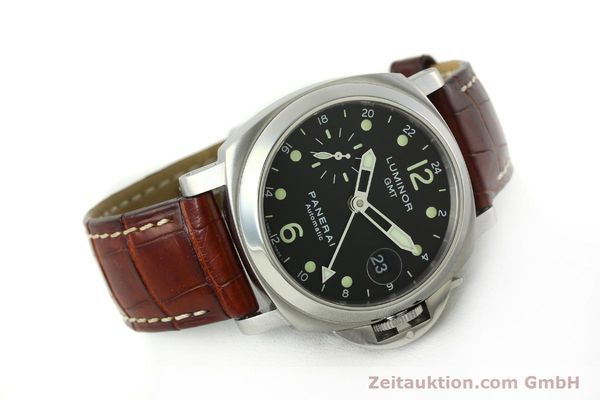 montre de luxe d occasion Panerai Luminor GMT acier automatique Kal. A05571 Ref. OP6594  | 150431 03