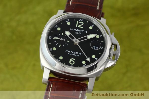montre de luxe d occasion Panerai Luminor GMT acier automatique Kal. A05571 Ref. OP6594  | 150431 04