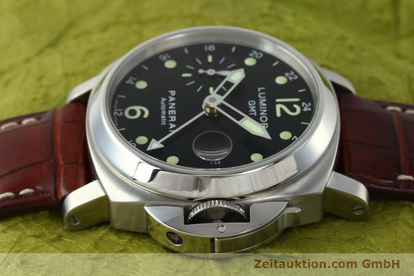 montre de luxe d occasion Panerai Luminor GMT acier automatique Kal. A05571 Ref. OP6594  | 150431 05