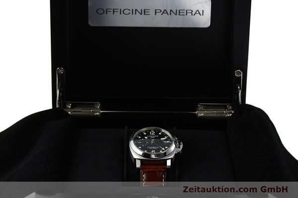 montre de luxe d occasion Panerai Luminor GMT acier automatique Kal. A05571 Ref. OP6594  | 150431 07