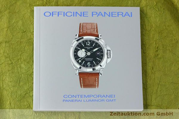 montre de luxe d occasion Panerai Luminor GMT acier automatique Kal. A05571 Ref. OP6594  | 150431 13