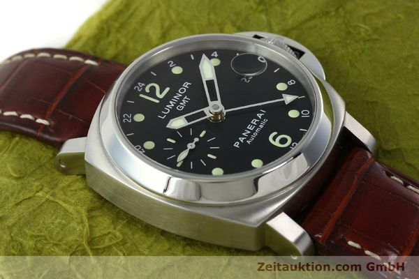 montre de luxe d occasion Panerai Luminor GMT acier automatique Kal. A05571 Ref. OP6594  | 150431 17