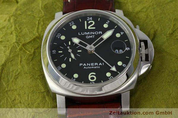 montre de luxe d occasion Panerai Luminor GMT acier automatique Kal. A05571 Ref. OP6594  | 150431 18