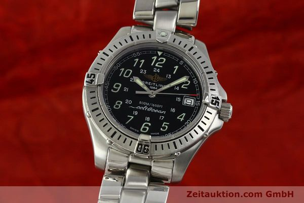 Used luxury watch Breitling Colt Oceane steel quartz Kal. B64 Ref. A64350  | 150434 04