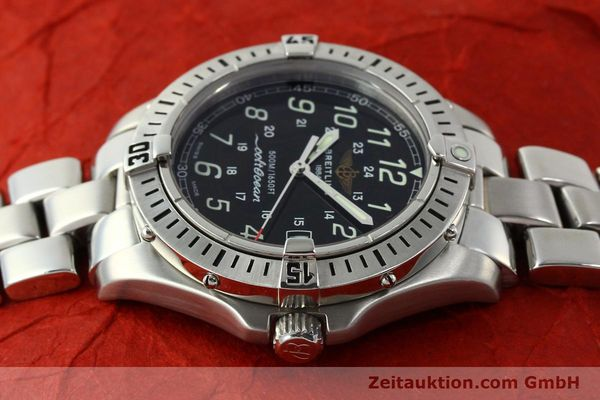Used luxury watch Breitling Colt Oceane steel quartz Kal. B64 Ref. A64350  | 150434 05