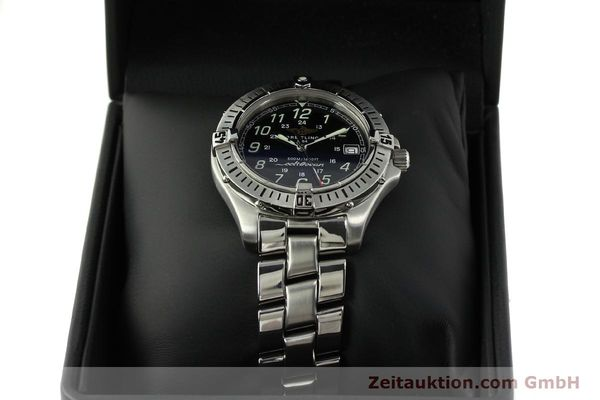 Used luxury watch Breitling Colt Oceane steel quartz Kal. B64 Ref. A64350  | 150434 07