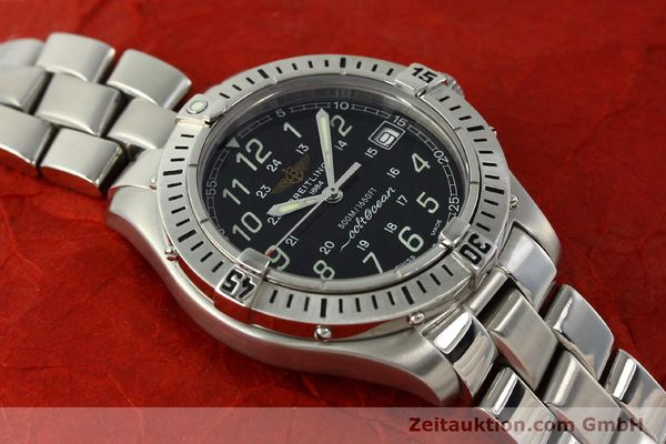 Used luxury watch Breitling Colt Oceane steel quartz Kal. B64 Ref. A64350  | 150434 13