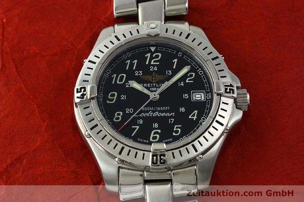 Used luxury watch Breitling Colt Oceane steel quartz Kal. B64 Ref. A64350  | 150434 14