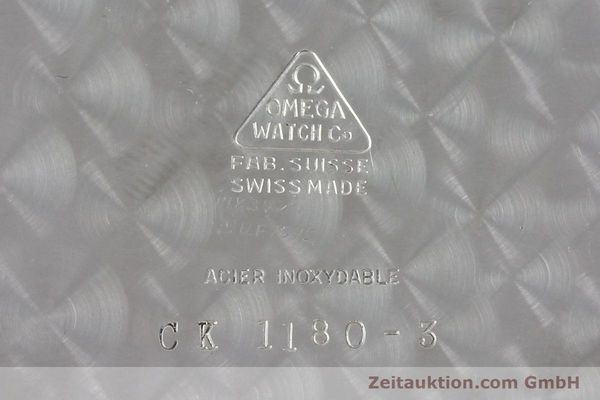 Used luxury watch Omega Taschenuhr steel manual winding Kal. 161  | 150437 09