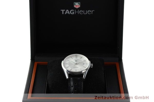 Used luxury watch Tag Heuer Carrera steel automatic Kal. 5 ETA 2824-2 Ref. WV211A-0  | 150438 07