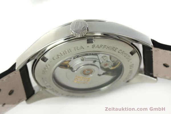 Used luxury watch Tag Heuer Carrera steel automatic Kal. 5 ETA 2824-2 Ref. WV211A-0  | 150438 08