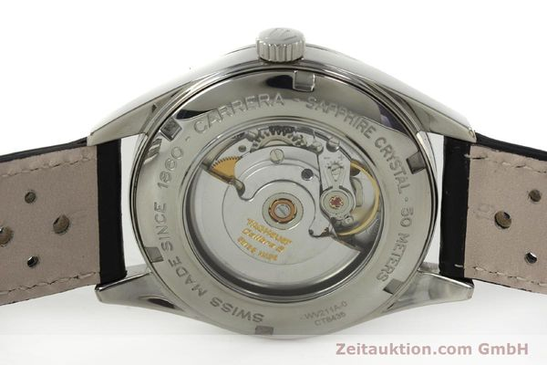 Used luxury watch Tag Heuer Carrera steel automatic Kal. 5 ETA 2824-2 Ref. WV211A-0  | 150438 09