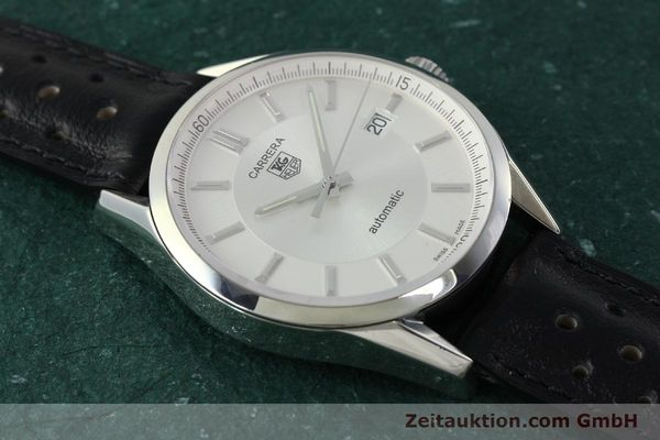 Used luxury watch Tag Heuer Carrera steel automatic Kal. 5 ETA 2824-2 Ref. WV211A-0  | 150438 14