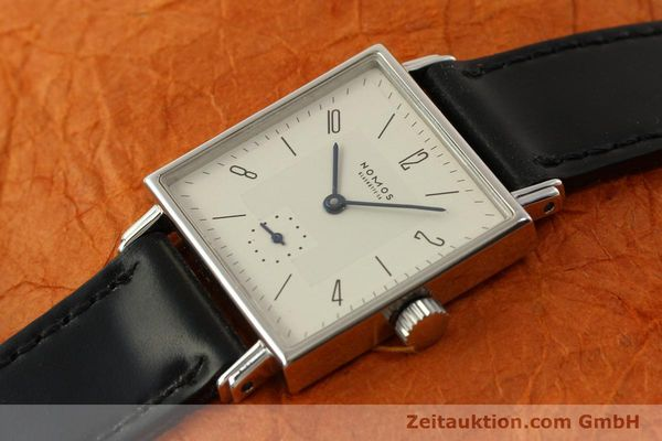 Used luxury watch Nomos Tetra steel manual winding Kal. ETA 7001  | 150439 01
