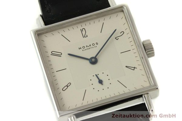 Used luxury watch Nomos Tetra steel manual winding Kal. ETA 7001  | 150439 02