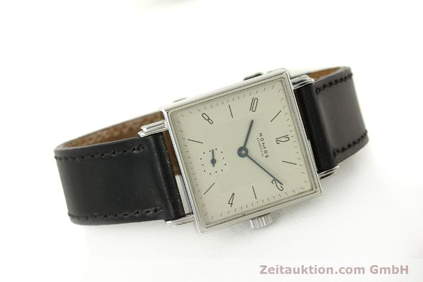 Used luxury watch Nomos Tetra steel manual winding Kal. ETA 7001  | 150439 03