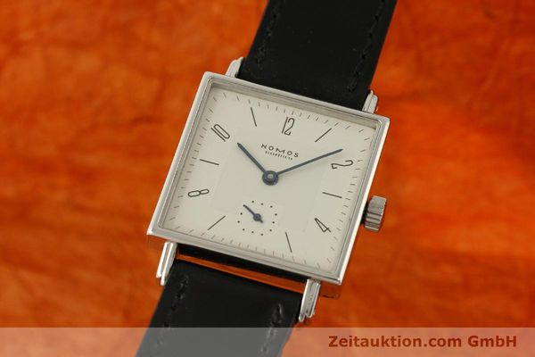 Used luxury watch Nomos Tetra steel manual winding Kal. ETA 7001  | 150439 04