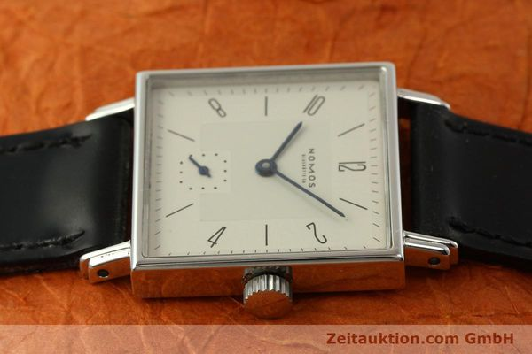 Used luxury watch Nomos Tetra steel manual winding Kal. ETA 7001  | 150439 05