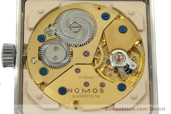 Used luxury watch Nomos Tetra steel manual winding Kal. ETA 7001  | 150439 10
