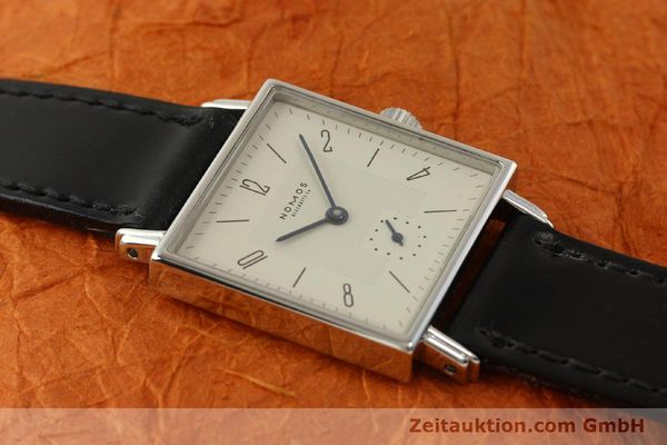 Used luxury watch Nomos Tetra steel manual winding Kal. ETA 7001  | 150439 14