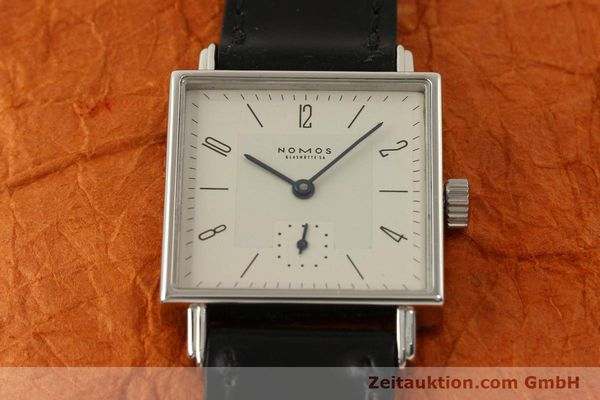 Used luxury watch Nomos Tetra steel manual winding Kal. ETA 7001  | 150439 15