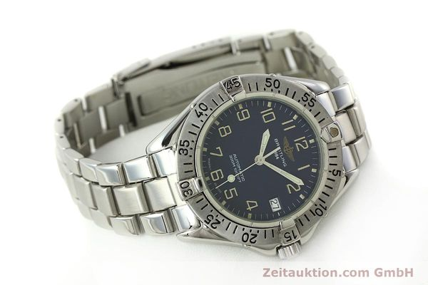 Used luxury watch Breitling Colt steel automatic Kal. B17 ETA 2824-2 Ref. A17035  | 150445 03