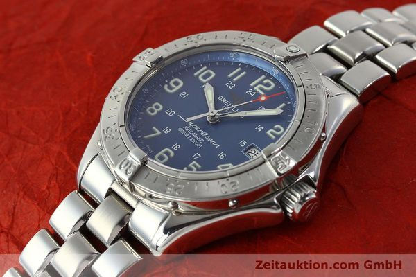 Used luxury watch Breitling Superocean steel automatic Kal. B17 ETA 2824-2 Ref. A17340  | 150449 01
