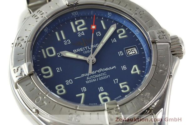 Used luxury watch Breitling Superocean steel automatic Kal. B17 ETA 2824-2 Ref. A17340  | 150449 02