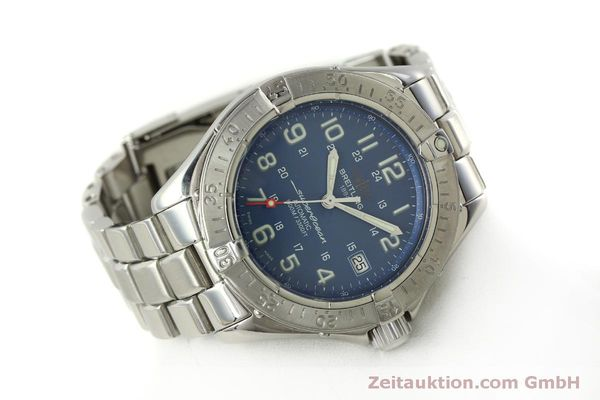 Used luxury watch Breitling Superocean steel automatic Kal. B17 ETA 2824-2 Ref. A17340  | 150449 03
